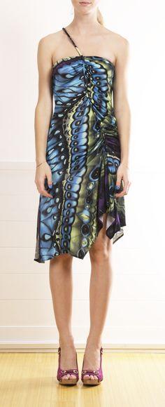 Versace Butterfly Dress <3