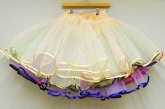 DIY Tutorial: Multi-Layered Tulle Petticoat