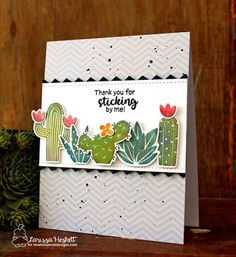 Cactus card by Laris