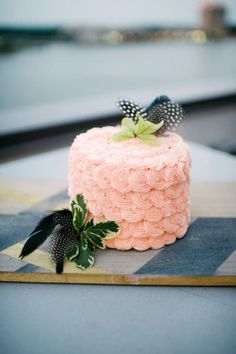 Little pink cake - Design by French Knot Studios - Rach Lea Photography