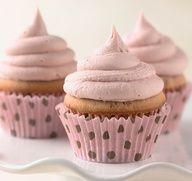Cherry Cupcakes  #recipe #valentinesday