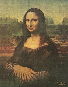 Manolisa (1) [Scuzzo] (Gioconda / Mona Lisa) /via http://www.pinterest.com/flitipoo/la-gioconda-fascinante-omnipresente-y-eterna/