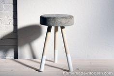 concrete stool diy