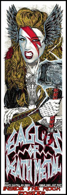 Eagles Of Death Metal - Rhys Cooper - 2014 ----