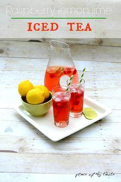 food recipes, iced tea, tea food