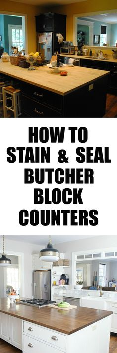how to stain and sea