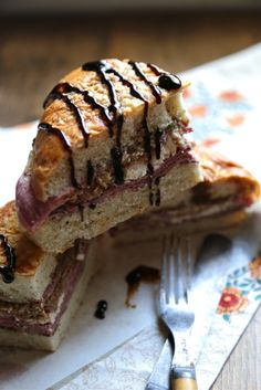 Pressed Italian Focaccia Sandwiches