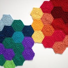 mobiusgirl #crochet JAYGO motifs - 70+ Inspiring Crochet Photos