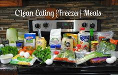 Save time and money while eating clean! Check out these clean eating freezer meals. #seektheunique #food #recipes