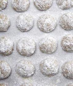Pistachio-Lemon Mexican Wedding Cookies recipe.