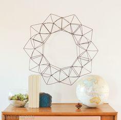 Modern Geometric Wreath