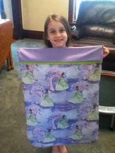 pillow case tutorial