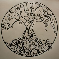 tattoo ideas, tree tattoos, circl, famili, trees, a tattoo, design, tree of life, the roots