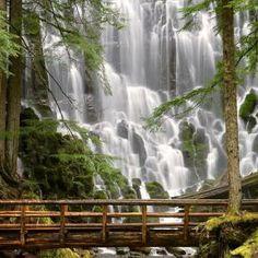 Ramona Falls Oregon.
