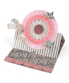 Loving this Stephanie Barnard Circle Card Stand-Ups Movers Shapers XL Die on #zulily! #zulilyfinds by O3, $24 !!