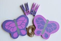 Butterflies Artwork Hanger Art organizer by FrogsAndFairytales, $25.00