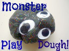 Monster Play Dough! - The Imagination Tree