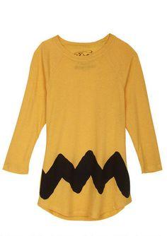 Charlie Brown Costume Tee