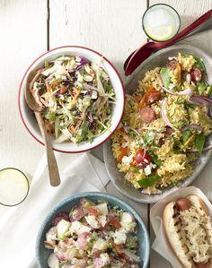 ... : Tricolor Coleslaw, Mediterranean Pasta Salad, & Bacon Potato Salad
