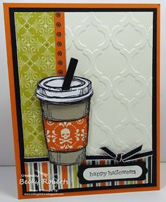 Stampin' Up! Inking Idaho: Another Perfect Blend Halloween