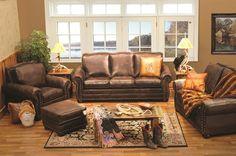 Livingroom Furniture - Jerome Davis Collection - Wooded River