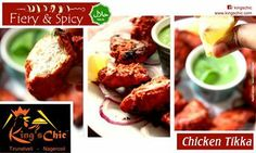The chic chef: tangy chicken wings with rice pilaf