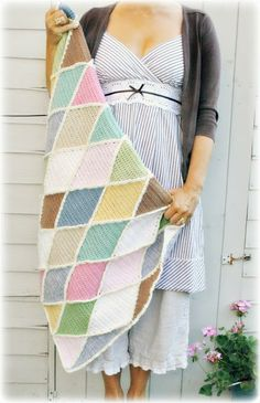 Another beauty made by Coco Rose Diaries, the Carousel blanket.