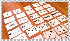 Number Sense Classroom Resources {freebie}