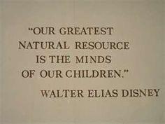 Our greatest natural resource.