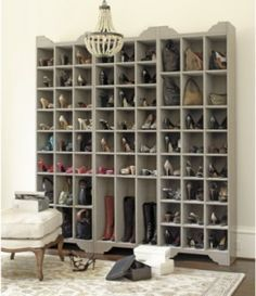 The shoe storage of my dreams!!!