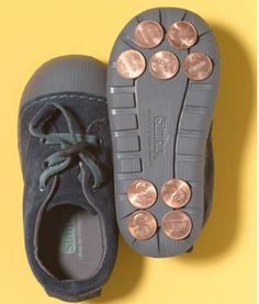 DIY kids' first tap dance shoes for pennies