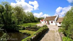 The quintessential thatched cottage conjures up a bygone age in Ireland and is now a relative rarity but you can still see them for sale occasionally...