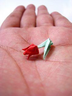 oragami rose