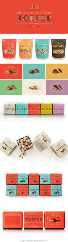 Mrs. Weinstein's Toffee I want #packaging : ) PD