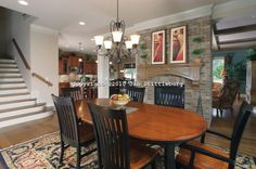 Open Kitchen And Living Room   open dining room to kitchen and living room