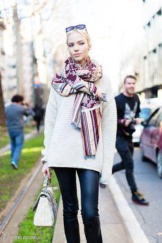 Sasha Luss after Dolce & Gabbana