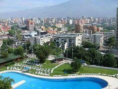 Caracas, Venezuela desde el Hotel Tamanaco.