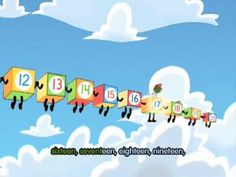 counting songs, count song, number lines, number sense, number songs