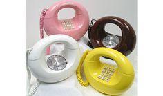 vintage phones, memori, 70s, telephones, rememb, white, retro, childhood, yellow