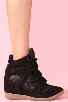 Wedged Sneakers :D