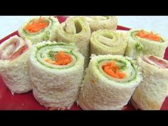 Sandwich Rollups Kids Video Recipes