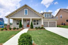 Large front porch, craftsman style home with bonusroom. Fredrick #1624 | Reunion Country Club | Hoschton, GA