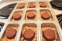 Cookie Dough reeses cup brownie Dessert Bar Type Things, :)