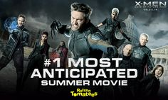See why #XMen: Days of Future Past is the #1 most anticipated summer movie by @Rotten Tomatoes. http://bit.ly/XMenRT pic.twitter.com/A4BcX2EWkX