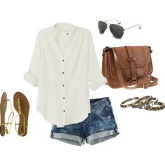 comfortable summer outfit