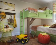 Love the bunks!