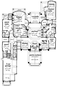 Florida House Plan ID: chp-46734 - COOLhouseplans.com