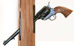 pistol door pull