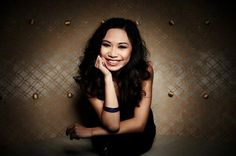jessica sanchez- american idol  adorable with a powerful voice.