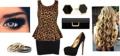 """Cheetah"" by baby-i-love-you-too-much on Polyvore"